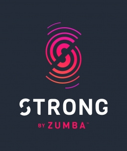 Zumba Strong on black